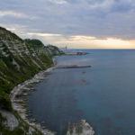 spiaggia grotta azzura Ancona