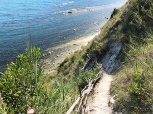 la scalaccia spiaggia