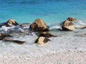 Spiaggia Portonovo riviera del Conero