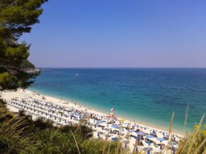 Spiaggia San Michele riviera del Conero