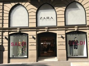 Zara store Ancona riviera del Conero