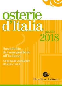 Osterie d'Italia 2018 libro