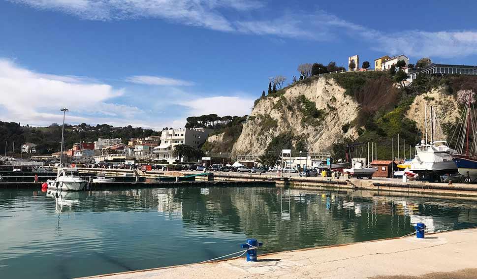 Numana Porto turistico Marzo 2018