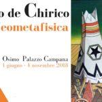 Osimo mostra de Chirico Sgarbi 2018