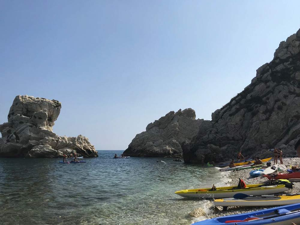 Canoa Sub Spiaggia due Sorelle