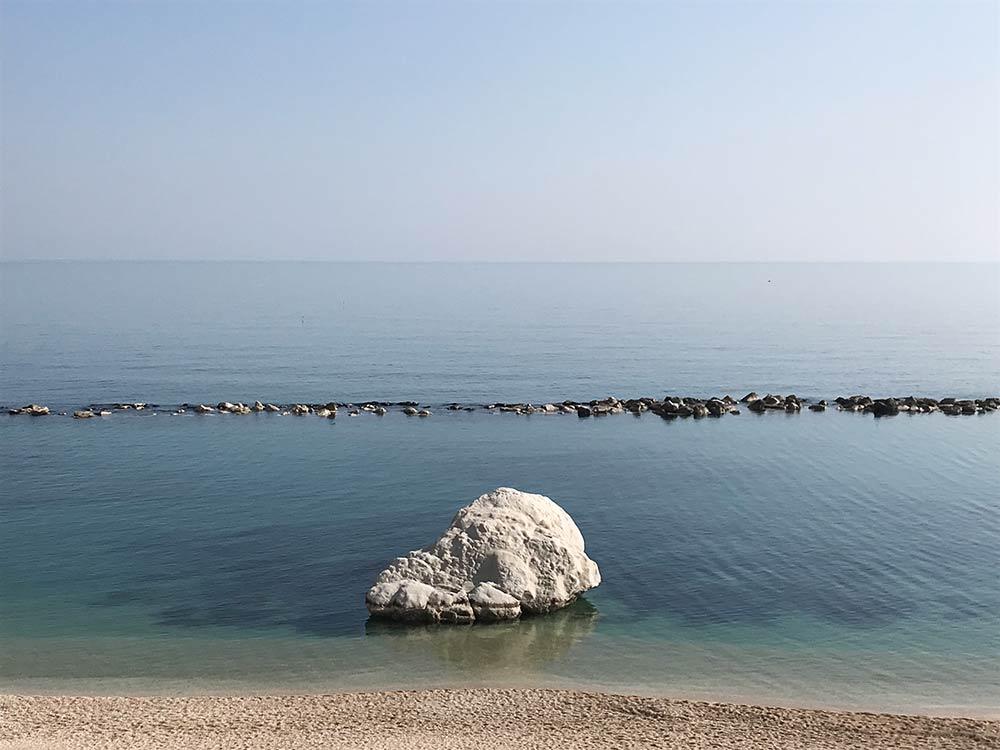 Numana Riviera del Conero spiaggia